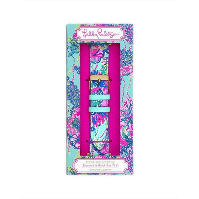 Lilly Pulitzer Accessory Beach You To It Lilly Apple Watch Band