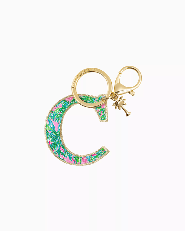 Lilly Pulitzer Accessory C Lilly Initial Keychain