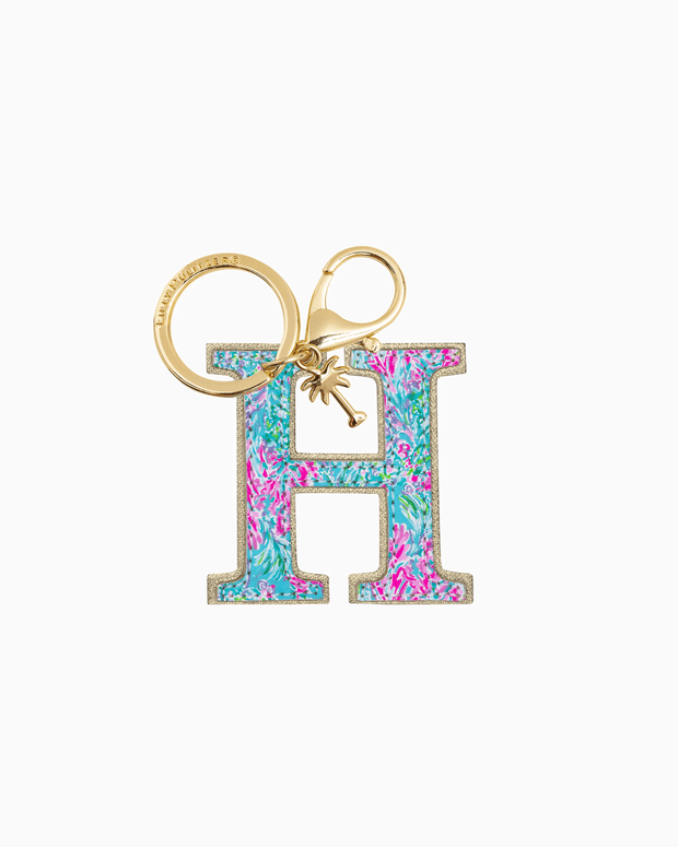 Lilly Pulitzer Accessory H Lilly Initial Keychain