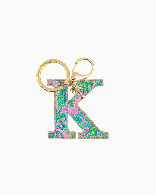Lilly Pulitzer Accessory K Lilly Initial Keychain