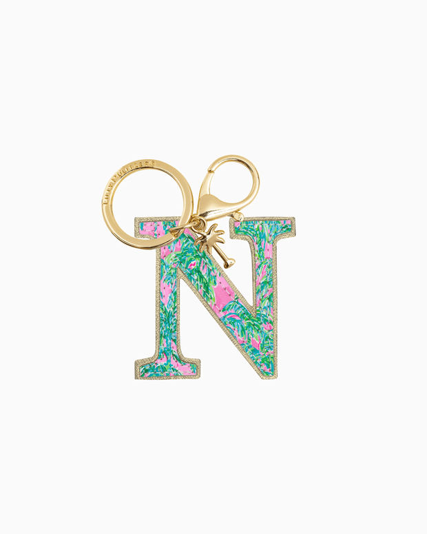 Lilly Pulitzer Accessory N Lilly Initial Keychain
