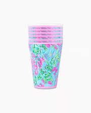 Lilly Pulitzer Drinkware Best Fishes Lilly Pool Cups