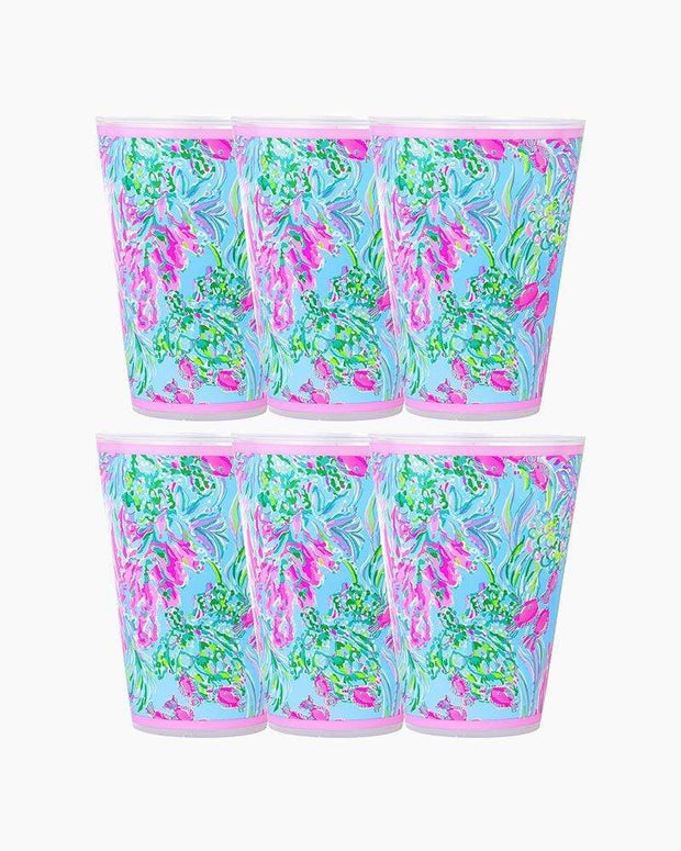 Lilly Pulitzer Drinkware Lilly Pool Cups