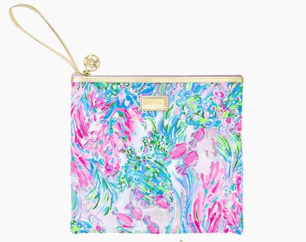 Lilly Pulitzer Gift Best Fishes Lilly Beach Day Pouch