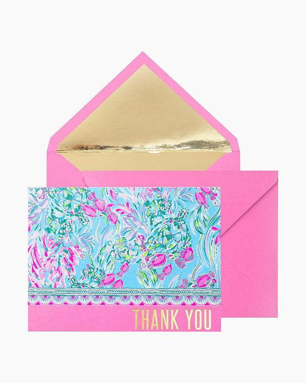 Lilly Pulitzer Gift Lilly Thank You Note Set - Best Fishes