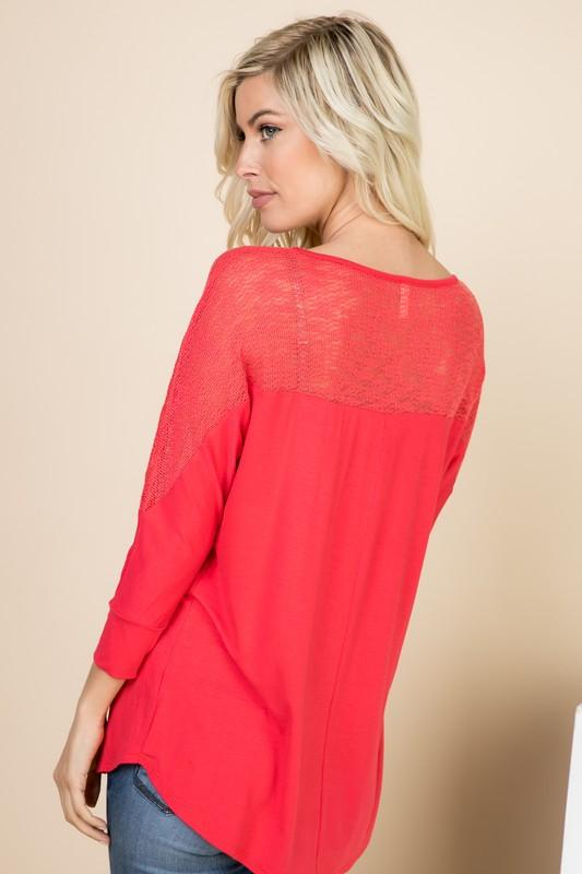 Coral Fun Top - mai soli - Teal Poppy Clothing Boutique