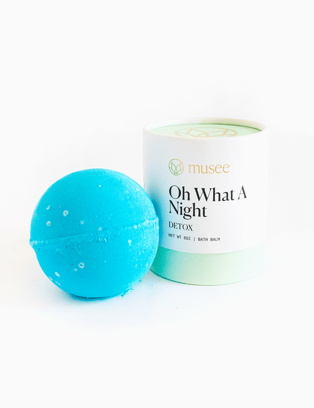 Oh What A Night Bath Balm - Musee - Teal Poppy Clothing Boutique