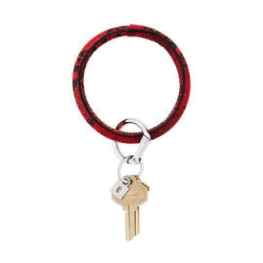 Oventure Leather Big O® Key Ring - Oventure - Teal Poppy Clothing Boutique