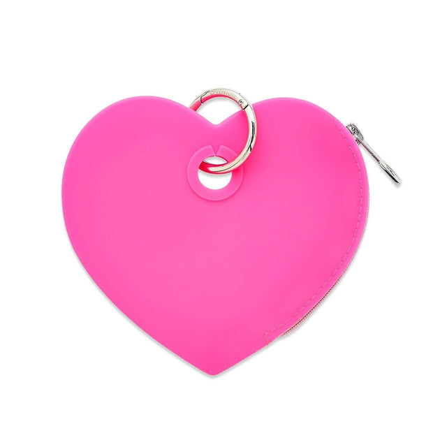 Oventure Accessory Tickled Pink Silicone Heart Pouch