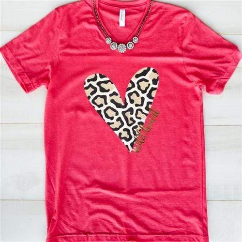 Pink Armadillos Graphic Tee Red / Small Wild Heart Vintage Tee