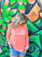 Prickly Pear TX Pullover You're So Golden Pullover
