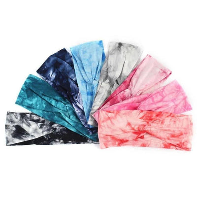 Tie-dye Twist Headbands - TMM - Teal Poppy Clothing Boutique