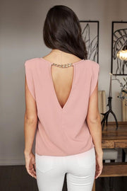 venti6 top Hayleigh Open Back Top