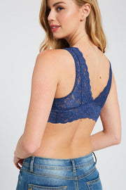 Elsa Bralette - Wishlist Apparel - Teal Poppy Clothing Boutique