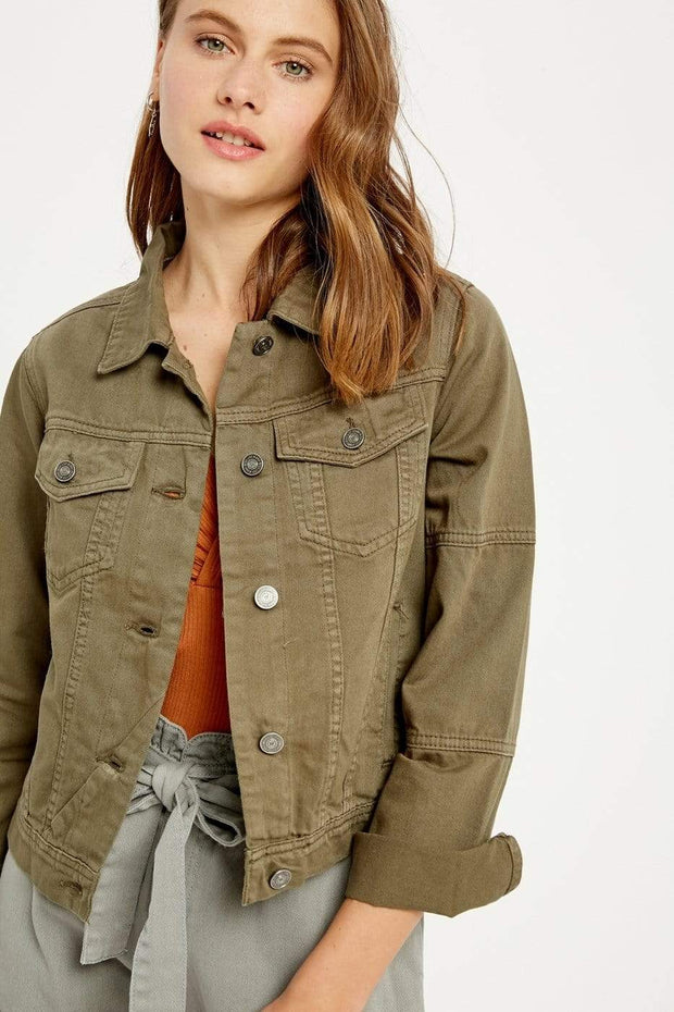 Wishlist Apparel Jacket Olive / Small Natalie Jacket