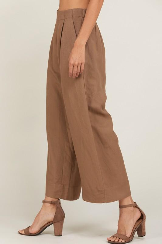 Wishlist Apparel Pant Wide Leg Pleated Pant