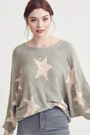 Seeing Stars Sweater - Wishlist Apparel - Teal Poppy Clothing Boutique