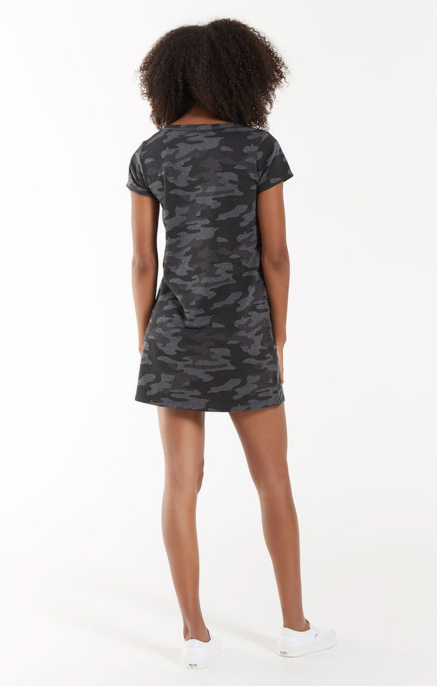 Z Supply Dress Payton Camo Tee Dress