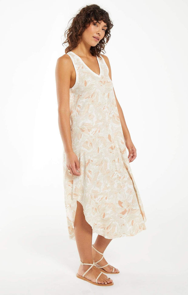 Z Supply Dress Reverie Floral Midi Dress