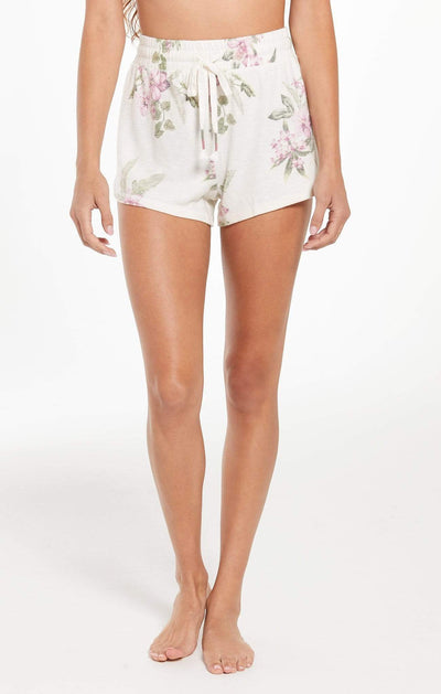Z Supply Shorts X Small / Bone Mia Garden Floral Short