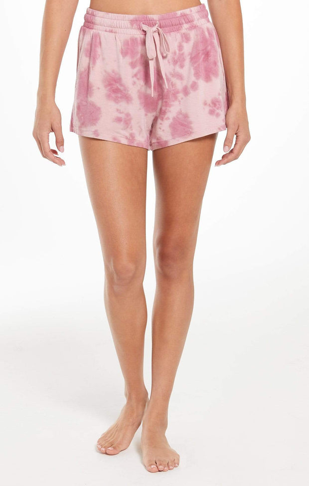 Z Supply Shorts X Small / Violet Ash Cruise Tie-Dye Short
