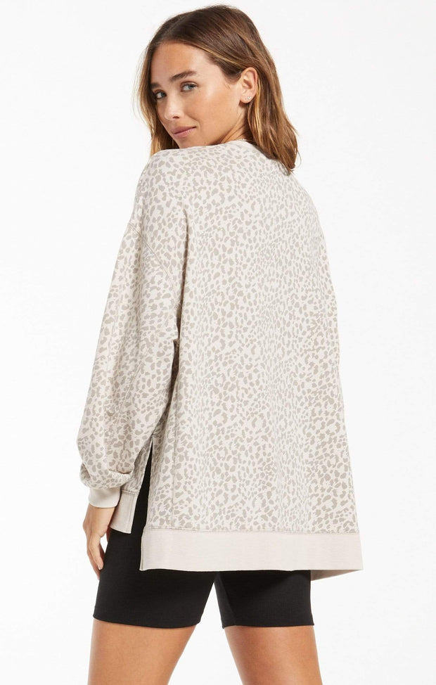 Z Supply Top Tonal Leopard Modern Weekender - Z SUPPLY