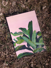 Load image into Gallery viewer, PINK LEAVES Original, 27 x 39.5 cm