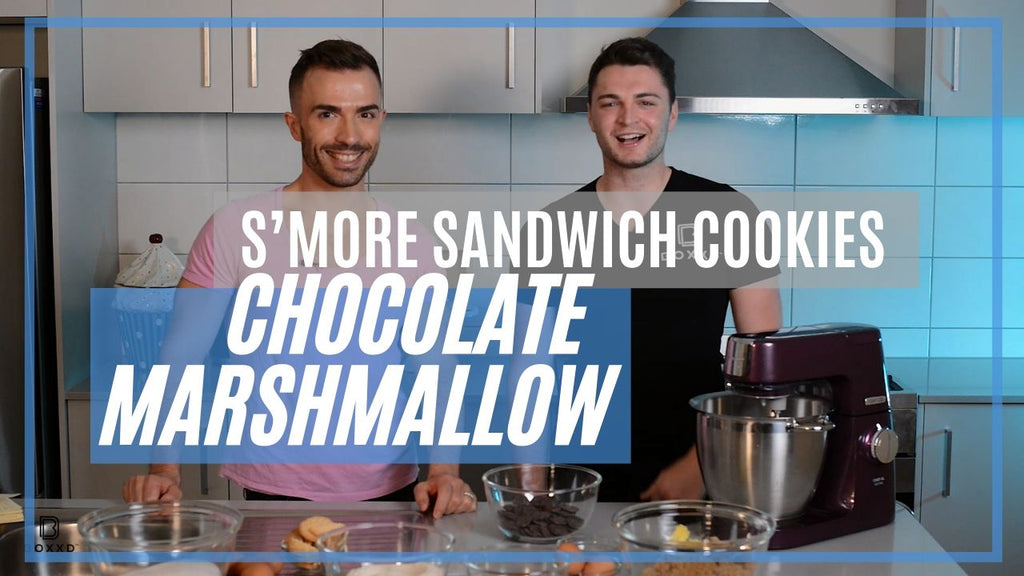 HOW TO BAKE S'more Sandwich Cookies with Dan Pasquali