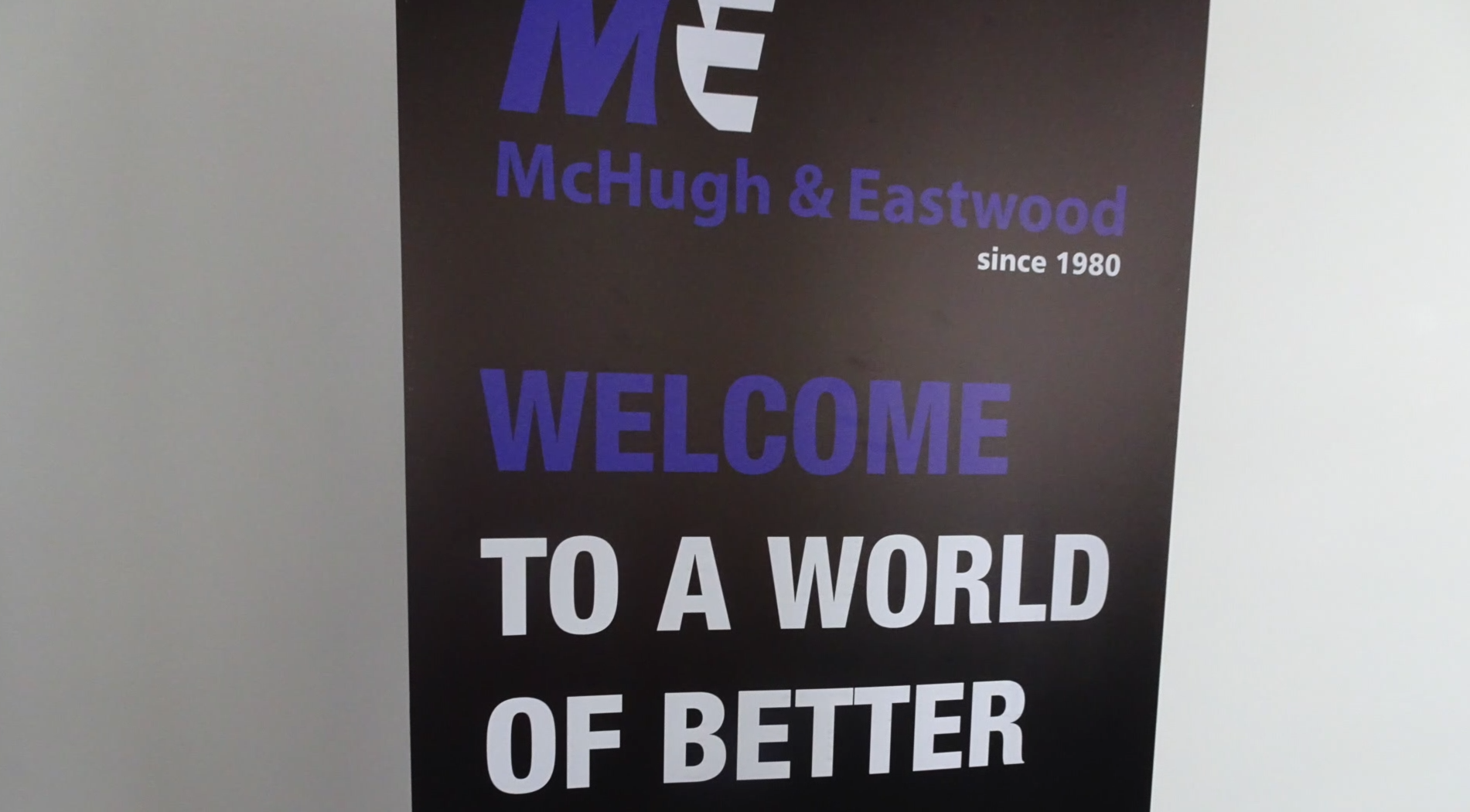 Mchugh and Eastwood Banner