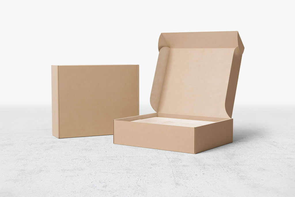 BOXXD™ MailingBox Custom Printed Corrugated Mailing Box -  24x 19 x 12cm MEDIUM