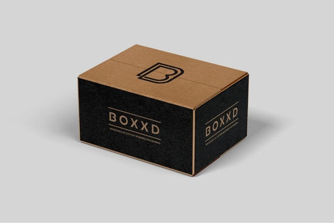 BOXXD™ ShippingBox 30 x 22 x 11 Small Custom Printed Corrugated Shipping Box