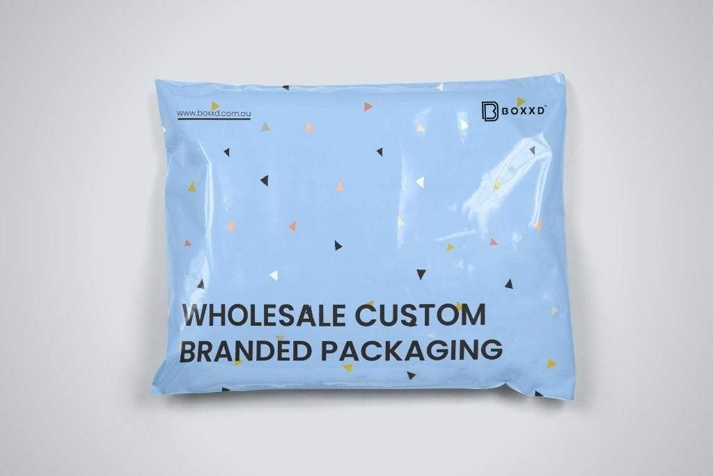 BOXXD™ MailingSatchels 38.5 x 26.5cm Medium Custom Branded Poly Mailer Satchel Self Sealing