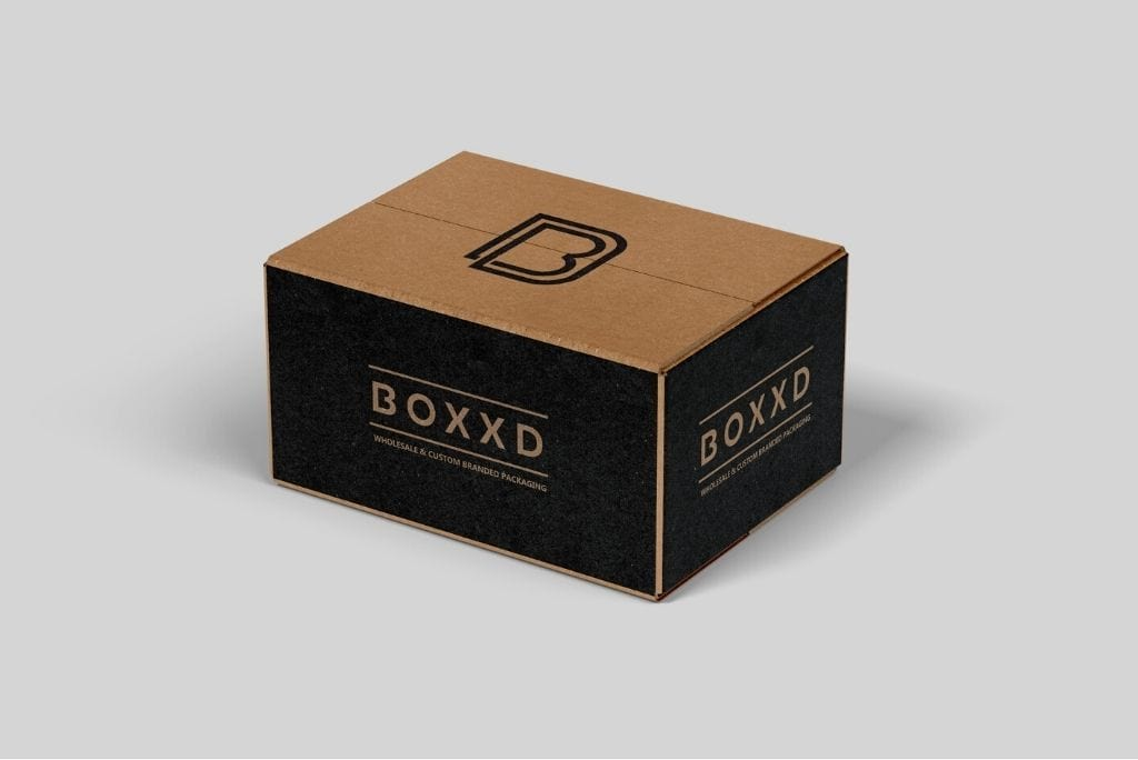 BOXXD™ ShippingBox 50 x 33 x 33cm Large Custom Printed Corrugated Shipping Box