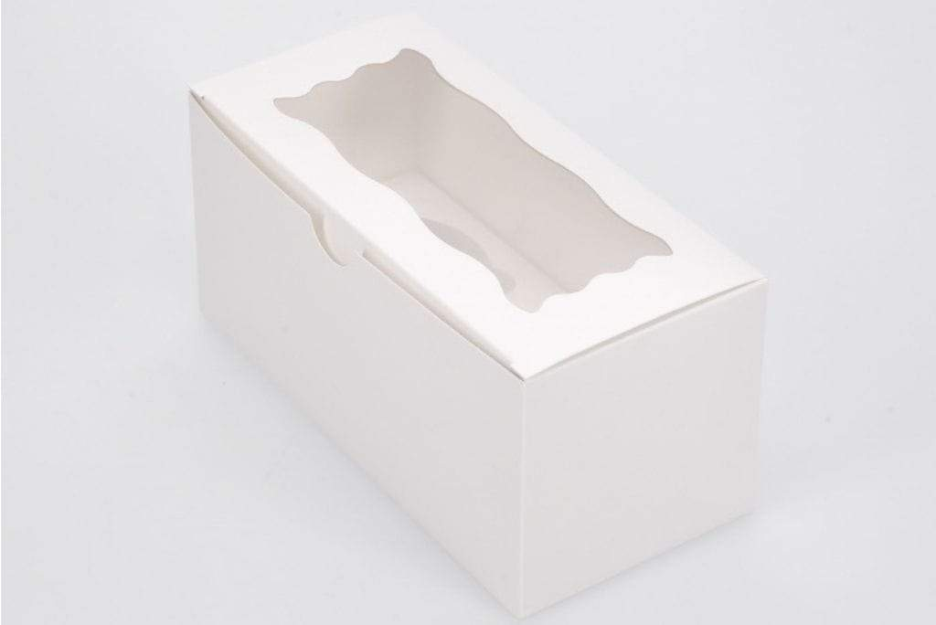 BOXXD™ CustomCupcakeBoxes Custom Branded 2 Regular Cupcake Dessert Box with Insert
