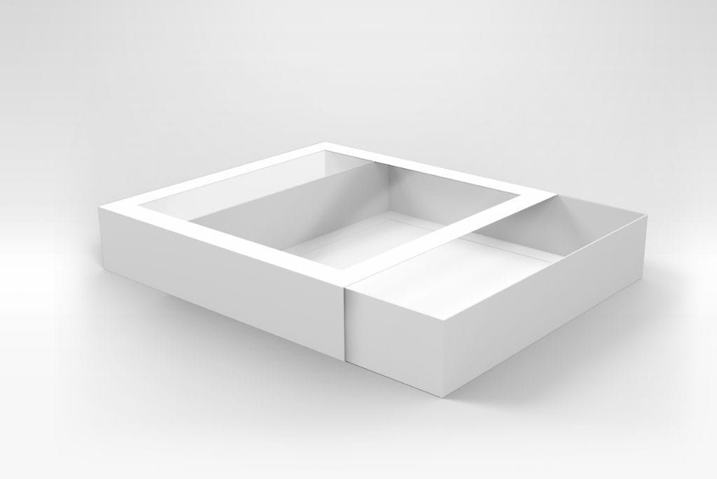 BOXXD™ CookieDessertBox Custom Printed 25 x 25 x 5cm Large Cookie Biscuit Box with Slide Cover & Clear Window