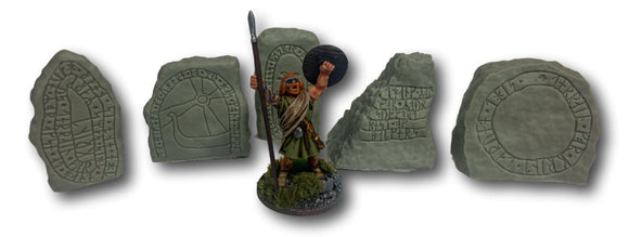 Warhead Studio Historical Runic Stones - Set of 5
