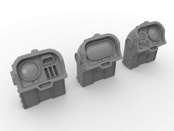 Warhead Studio Sci-Fi Terrain Computer Objectives Set - 6 pieces
