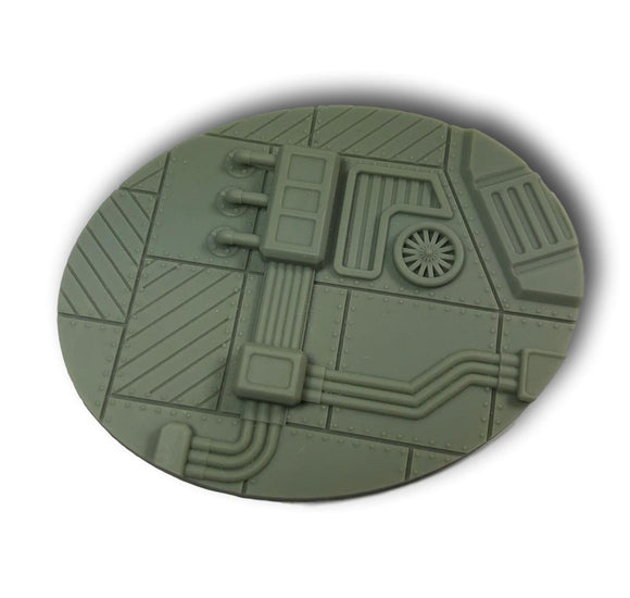 WarheadStudio Sci Fi  Industrial Bases - 120mm Oval (1)