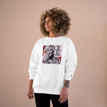 "Load image into Gallery viewer, ""Marilyn - Dogs are Really a Girl's Best Friend!"" Custom Graphic Champion Sweatshirt"