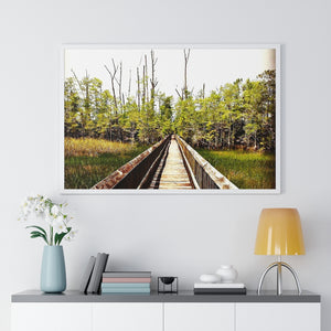 """Nature Scenes 3"" Premium Framed Horizontal Poster"