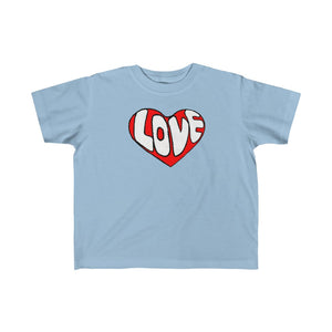 """It's All About Love"" Kid's Fine Jersey Tee"