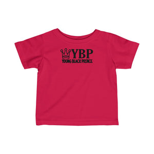 """Young Black Prince"" Infant Fine Jersey Tee"