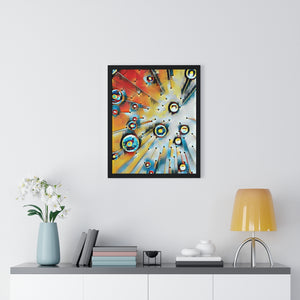 """Look Up"" Premium Framed Vertical Poster"
