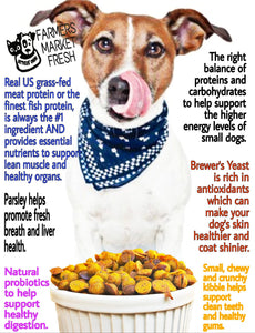 Farmers Market Fresh All-Natural Dry Small Breed Dog Food