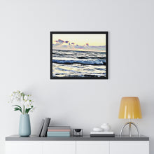 "Load image into Gallery viewer, ""Beach Scenes - B"" Custom Premium Framed Horizontal Poster"