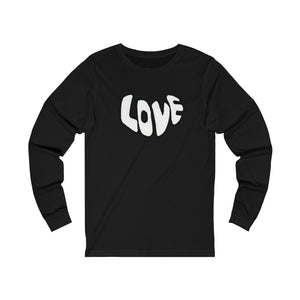 """It's All About Love""  Long Sleeve Tee"