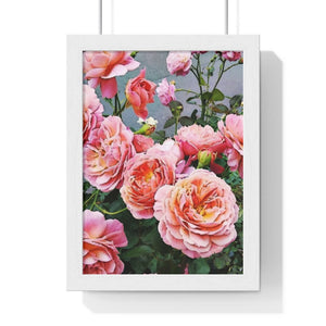 """In Bloom"" Print Premium Framed Vertical Poster"