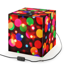 "Load image into Gallery viewer, ""Festive"" Personalized Ambient Lamp"