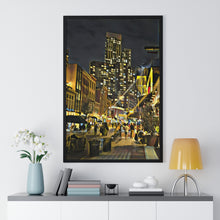"Load image into Gallery viewer, ""Grove Street"" Custom Graphic Print Premium Framed Poster"