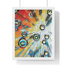 "Load image into Gallery viewer, ""Look Up"" Premium Framed Vertical Poster"